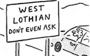 Referendum: Clearing up the mess—3: the «West Lothian question»