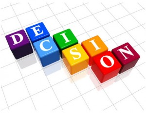 The best way to make decisions
