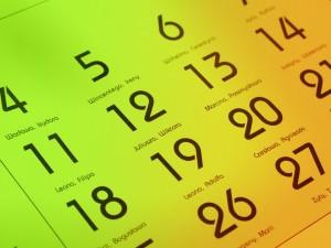 GradStart calendar